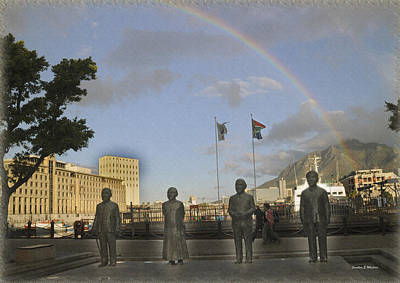 Cape Town Freedom South Africa Print by Jonathan Whichard