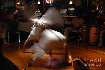 Photograph - Capoeira by Carolina Abolio