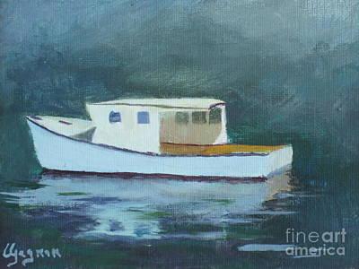 Captain Tom Print by Claire Gagnon