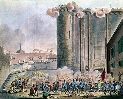 Capture Of The Bastille Print by Granger