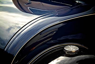 Car Abstract Print by Odd Jeppesen