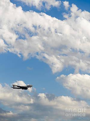 Cargo Jet In Flight Print by Tim Hawley