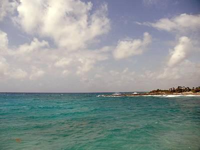 Photograph - Caribbean Costa Maya by Riley Geddings