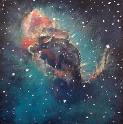 Carina Nebula Jet Print by Alizey Khan