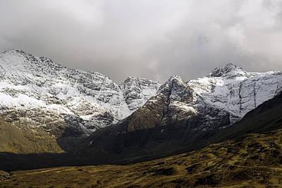 Glen Brittle Photograph - Carn Coire Na Creiche Mountains by Duncan Shaw