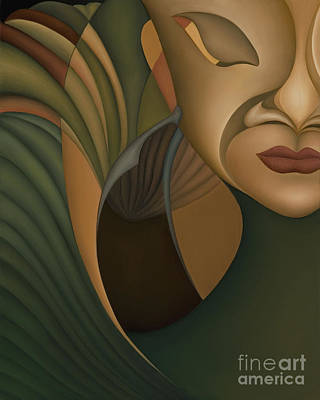 Curvilinear Painting - Carnival by Joanna Pregon