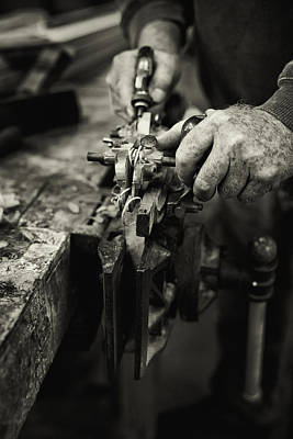 Carpenter L Print by Rob Travis