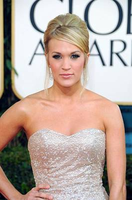 Carrie Underwood At Arrivals For The Print by Everett