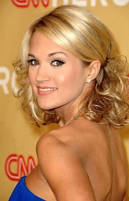 Carrie Underwood In Attendance For Cnn Print by Everett