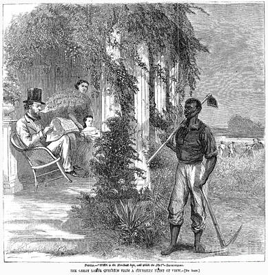 Cartoon: Emancipation Print by Granger