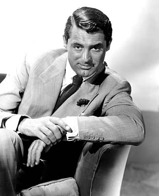 Cary Grant, Portrait Print by Everett