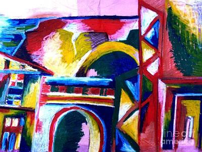 Www.artworkxofmann.com Pastel - Casablanca by Faye Halsall