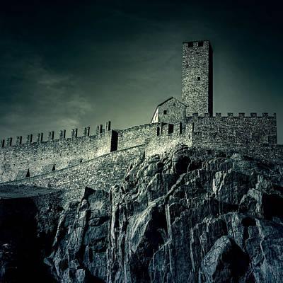 Castle Photograph - Castelgrande Bellinzona by Joana Kruse