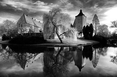 Knights Castle Photograph - Castle Burgsteinfurt by Thomas Splietker