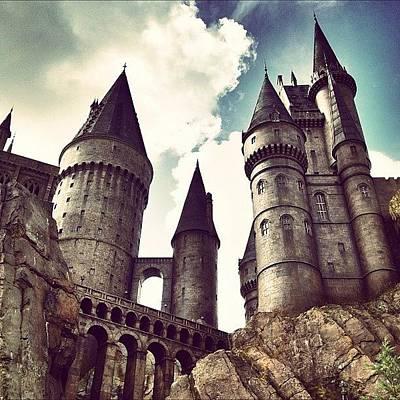 Dungeon Photograph - #castle #hogwarts #dark #cloud by Tobrook Eric gagnon