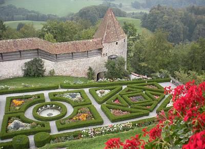 Marilyn Photograph - Castle Of Gruyeres Switzerland by Marilyn Dunlap