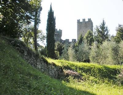 Marilyn Photograph - Castle Vezio Lake Como by Marilyn Dunlap