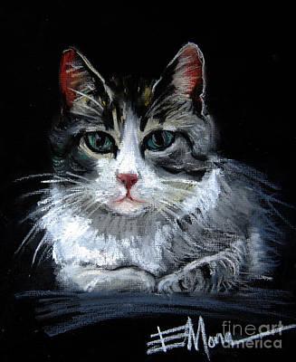 Cat 2 Print by Mona Edulesco