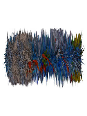 Cat Hair Ball Print by Robert Margetts