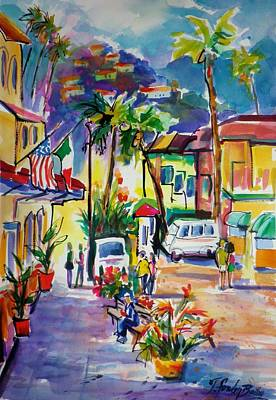 Painting - Catalina Island Colors by Therese Fowler-Bailey