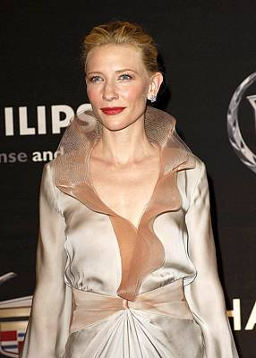 Cate Blanchett At Arrivals For 13th Print by Everett