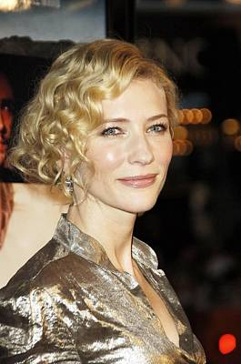 Cate Blanchett At Arrivals For Babel Print by Everett