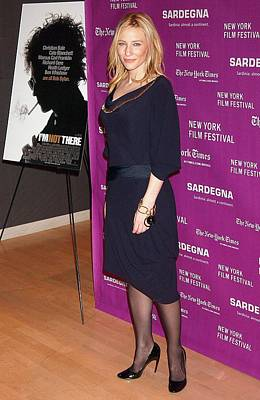 Cate Blanchett Wearing An Alexander Print by Everett