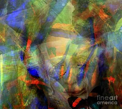 Yesayah Mixed Media - Caught In An Illusion by Fania Simon
