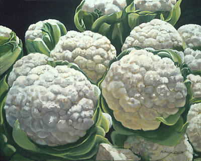 Cauliflower Painting - Cauliflower by Patricia Devitt