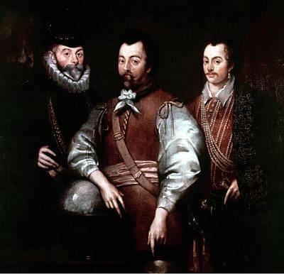 Cavendish Drake And Hawkins Print by Granger