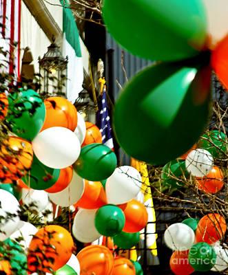 Celebrate Saint Patrick's Day Print by Carol F Austin