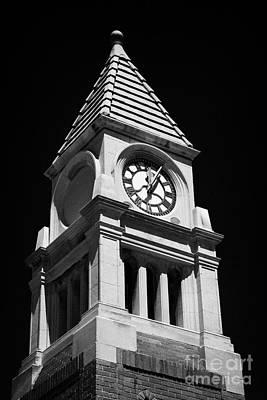 Cenotaph Clock Tower Niagara-on-the-lake Ontario Canada Print by Joe Fox