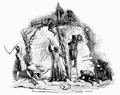 Censorship: Allegory Print by Granger