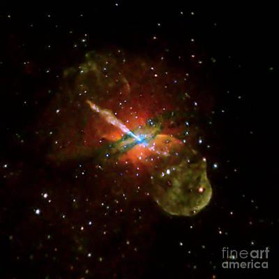 Jet Star Photograph - Centaurus A by Nasa