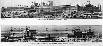 Centennial Expo, 1876 Print by Granger