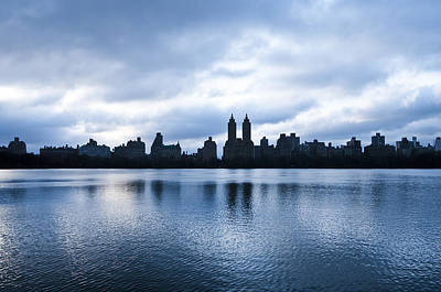 Central Park Lake Print by Svetlana Sewell
