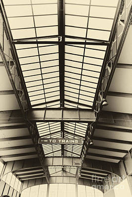 Leda Photograph - Central Railroad Of New Jersey  by Leslie Leda