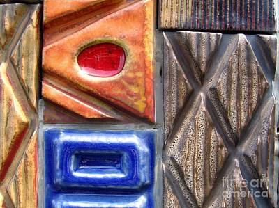 Burned Clay Photograph - Ceramic Tiles by Yali Shi