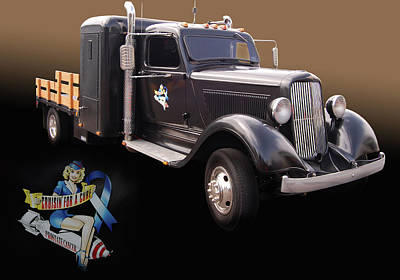 Cfac 36 Dodge Print by Bill Dutting
