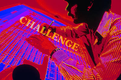 Challenge Print by Jerry McElroy