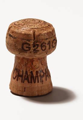 Photograph - Champagne Cork by Nicholas Eveleigh