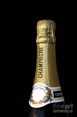 Champagne Neck Print by Richard Thomas