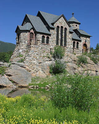 Saint Catherine Of Siena Chapel Photograph - Chapel On The Rock by Gregory Scott