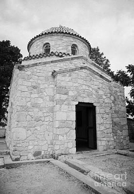Chapel Over The Tomb Of St Barnabas Church Near Famagusta Turkish Republic Of Northern Cyprus Trnc Print by Joe Fox