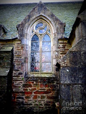 Chapel Window Print by Lainie Wrightson