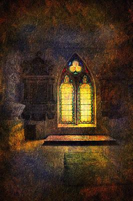 Chapel Window Print by Svetlana Sewell