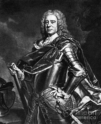 Mezzotint Photograph - Charles Cathcart (1686-1740) by Granger