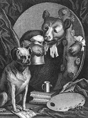 Charles Churchill Print by Granger