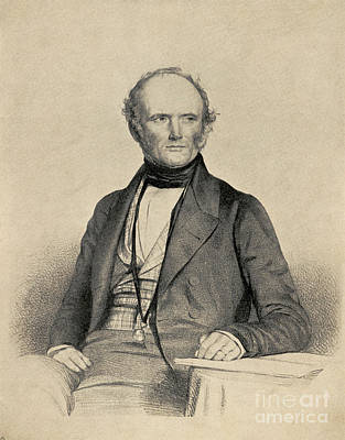 Charles Lyell Photograph - Charles Lyell, Scottish Geologist by Science Source