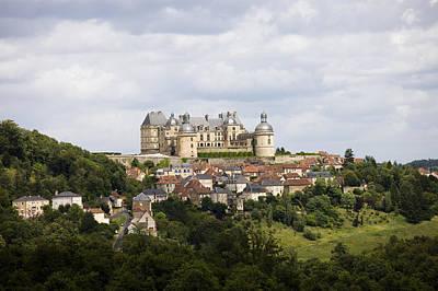 Chateau De Hautefort, Dordogne, France Print by Tim Graham
